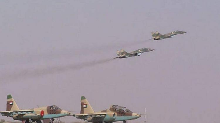 مناورات عسكرية سودانية سعودية على الحدود مع مصر
