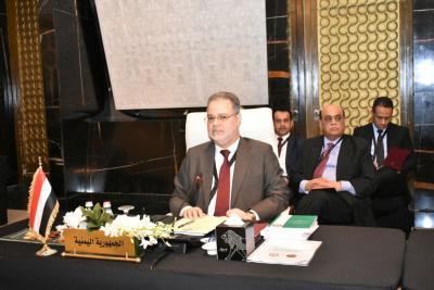 المخلافي يشيد بمساندة الدول العربية للحكومة الشرعية في اليمن