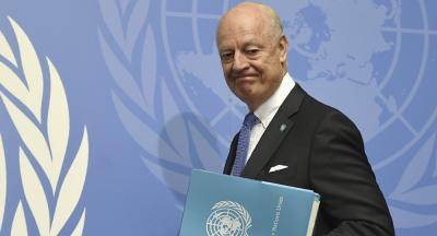 المبعوث الأممي دي ميستورا يمثل سورية في القمة العربية !