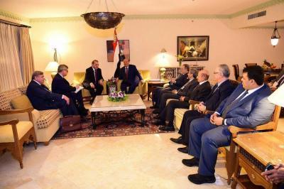 الرئيس هادي يستقبل المبعوث الخاص للرئيس الروسي للشرق الاوسط