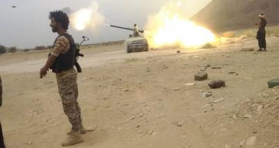 وصول لواء عسكري من أبناء صعدة إلى جبهة علب للمشاركة في العمليات العسكرية ضد الحوثيين
