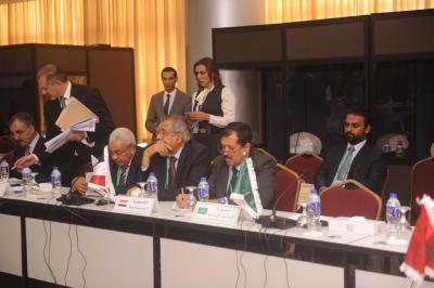 الشدادي يلتقي الوفود المشاركة في مؤتمر الاتحاد البرلماني الدولي في دكا