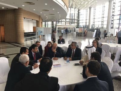 الشدادي يعقد لقاءات مع رؤساء البرلمانات العربية والدولية في دكا