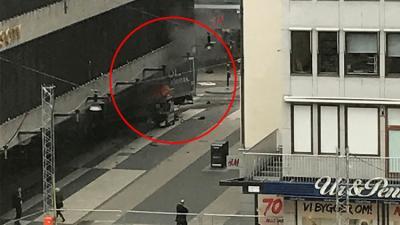السويد : 5 قتلى وعشرات المصابين بهجوم دهس في ستوكهولم