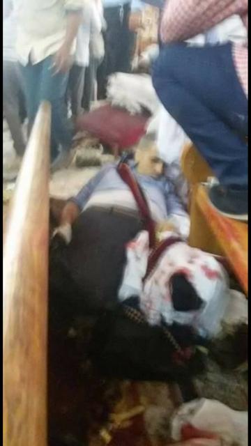عشرات القتلى والجرحى في تفجير إستهدف إحدى الكنائس بمصر ( صور)