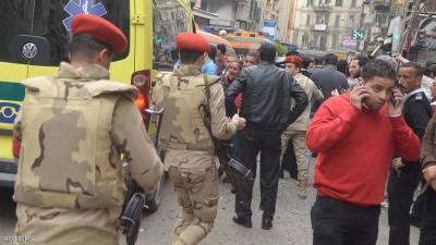 داعش يتبنى التفجيرات الداميه في مصر .. والسيسي يوجه الجيش بالنزول لمساندة الأمن