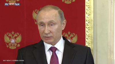بوتين: الوضع في سوريا يذكرنا بأحداث العراق 2003 ولدينا معلومات باستفزازات جديدة