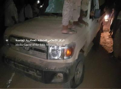 الجيش يشن هجوماً مباغتاً على الحوثيين ويسيطر على مواقع في ميدي