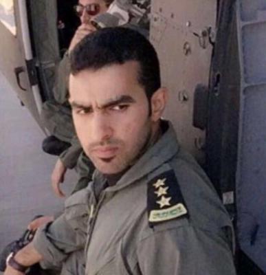 صور قائد الطائرة السعودية قبل مقتله والتي سقطت بمأرب وقتل فيها 12 ضابط وصف ضابط