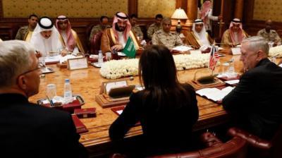 رويترز تكشف كواليس زيارة وزير الدفاع الأمريكي ونوع الدعم الذي ستقدمه أمريكا لقوات التحالف في اليمن