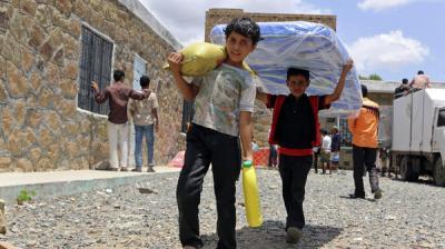 برنامج الأغذية العالمي يحذر من سقوط اليمن في مجاعة