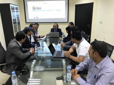 وزير الاعلام يدشن النسخة الجديدة لموقع وكالة الانباء اليمنية(سبأ)باللغة الإنجليزية