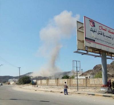 تفاصيل جديدة للإنفجارين اللذين وقعا في معسكر للحمايه الرئاسية في جبل حديد بعدن وخلفا أكثر من 23 بين قتيل وجريح