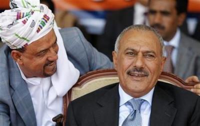 """البركاني يبعث برسالة إلى الرئيس السابق """" صالح """" بشأن تعز .. وصالح يرد ( نص الرسالة )"""