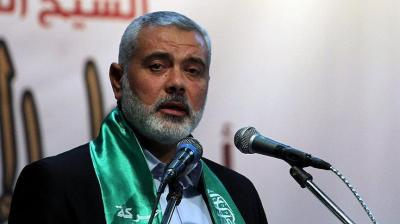 """هنية رئيسًا للمكتب السياسي لحركة حماس خلفًا لـ """" خالد مشعل """""""