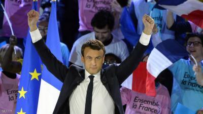 فوز أصغر مرشح للرئاسة بتاريخ فرنسا
