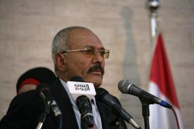 """أبرز ما قاله الرئيس السابق """" صالح """" في كلمته .. طالب بحوار سعودي وتشكيل قيادة جديدة في اليمن وهاجم الحوثيين والرئيس هادي وتحدث عن أحداث عدن الأخيرة"""