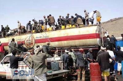 بالتعاون مع الأجهزة الأمنية والسلطة المحلية .. حملة شاملة لايقاف محطات الوقود التي تخفي المشتقات النفطية