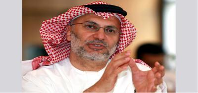"""الوزير الإماراتي """" قرقاش """" يكشف عن الدور الإماراتي في اليمن ويصف من ينتقدون دولته بالسفهاء والجبناء"""