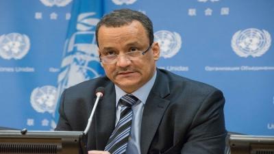 ولد الشيخ يقول إن الأمم المتحدة تسعى  لهدنة في اليمن قبل رمضان 