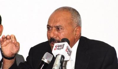 """الرئيس السابق """" صالح """" يكشف عن العرض الذي قدمته السعودية له ويقول بأنه باقً إلى يوم القيامة وهاجم الباحثين عن السلطة وأصحاب الكسب غير المشروع"""