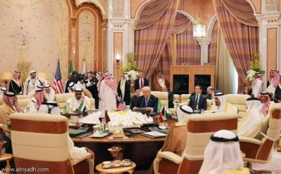 بالصور .. إنطلاق القمة الخليجية - الأمريكية برئاسة ترامب والملك سلمان
