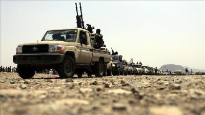 معارك عنيفة في نهم شرق صنعاء وطائرات التحالف تستهدف مواقع الحوثيين وقوات صالح
