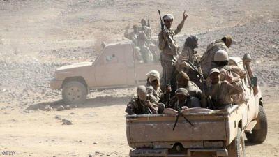 إستمرار المعارك العنيفة في نهم شرق صنعاء والجيش يتقدم ويسيطر على مواقع جديدة