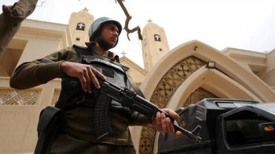 عشرات القتلى والجرحى في هجوم مسلح على أقباط مصر