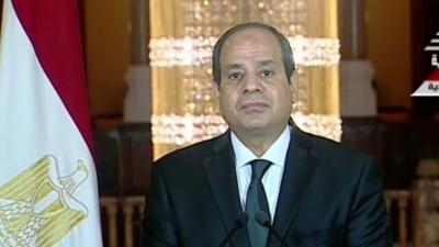 مصر تقصف ليبيا .. والسيسي يهدد