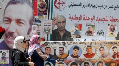 """بعد 41 يوماً.. الأسرى الفلسطينيون يعلقون """"إضرابهم"""""""