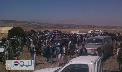 عشية إنتهاء المهلة التي حددها الحوثيون للجنة الرئاسية .. توتر شديد في محيط مدينة عمران  في ظل مغادرة اللجنة الرئاسية المنطقة