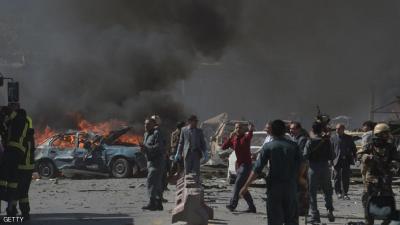 """تفاصيل مروعة لانفجار """"حي السفارات """" في كابل والذي خلف مئات القتلى والجرحى"""