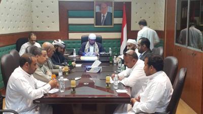 وزير الأوقاف يرأس اجتماعاً للجنة العليا لإدارة موسم الحج لمناقشة الترتيبات للعام الجاري