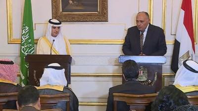 وزيرا الخارجية السعودي والمصري : حريصون على مكافحة الإرهاب والتطرف بكل أشكاله