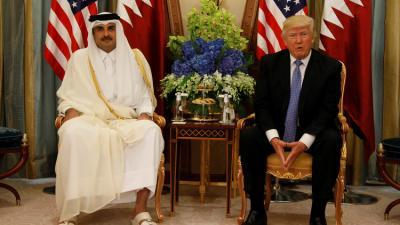 """أول تعليق للرئيس الأمريكي """" ترامب """" على الأزمة في قطر"""