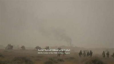 مقتل قيادي حوثي في جبهة ميدي