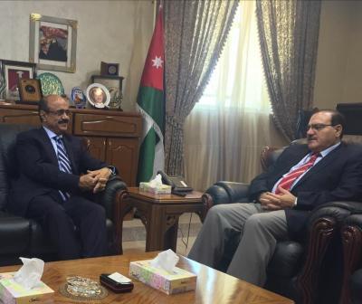 اليمن والأردن يبحثان استمرار اتفاقية التبادل الثقافي