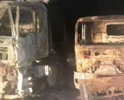 تفاصيل الإنفجار الذي إستهدف شاحنات إغاثية بمأرب تابعة لمركز الملك سلمان