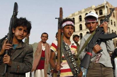 تقرير يوثق 1529 حالة تجنيد أطفال قام بها الحوثيون ويكشف أماكن تجنيدهم