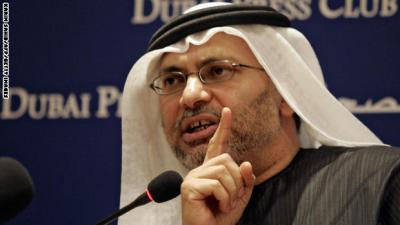قرقاش : قطر ليست تحت الحصار لكن عزلتها قد تستمر لسنوات