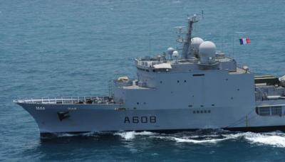 مناورات عسكرية بحرية قطرية - فرنسية