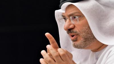 """الوزير الإماراتي """" قرقاش """" يهدد قطر"""
