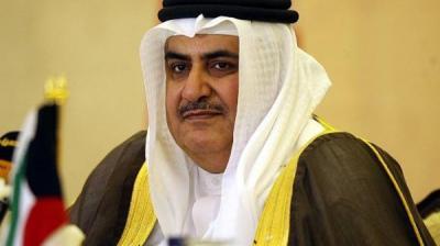 وزير الخارجية البحريني : الدوحة تصعد عسكرياً