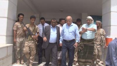 وزير العدل وامين عام رئاسة الوزراء يطلعان على سير العمل في المجمع القضائي