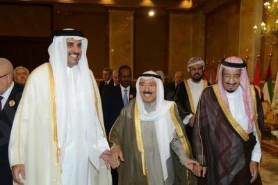 مبعوث أمير الكويت يتوجه إلى قطر ووزير الإعلام إلى جدة