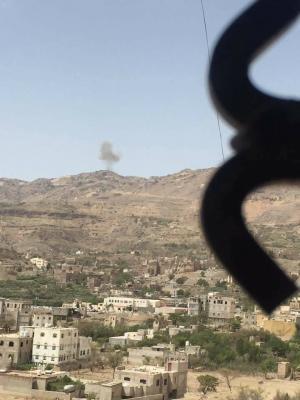 أسماء المواقع التي استهدفها اليوم طيران التحالف في العاصمة صنعاء وضواحيها ( صور)