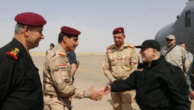 """العبادي في الموصل وسط ترقّب إعلان تحريرها من """"داعش"""""""