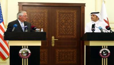 وزير الخارجية الأمريكي يعود إلى الدوحة للقاء أمير قطر