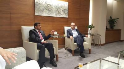 وزير النفط يبحث مع أرامكو احتياجات اليمن من الوقود